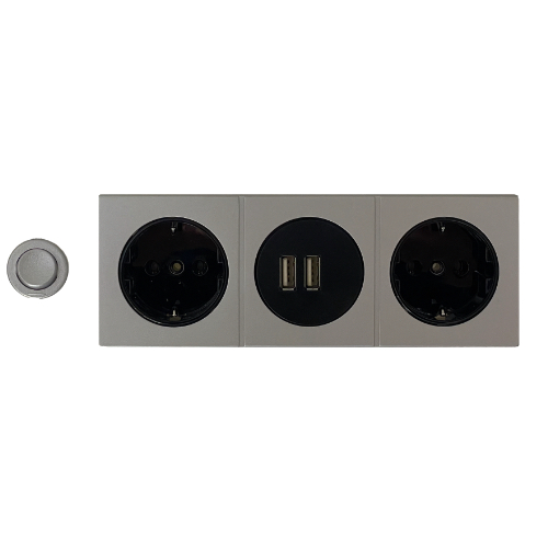 Steckdosen + USB Charger